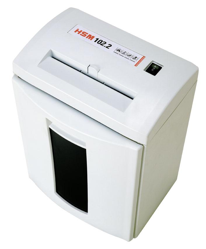 מגרסת נייר משרדית  HSM  CLASSIC 102.2