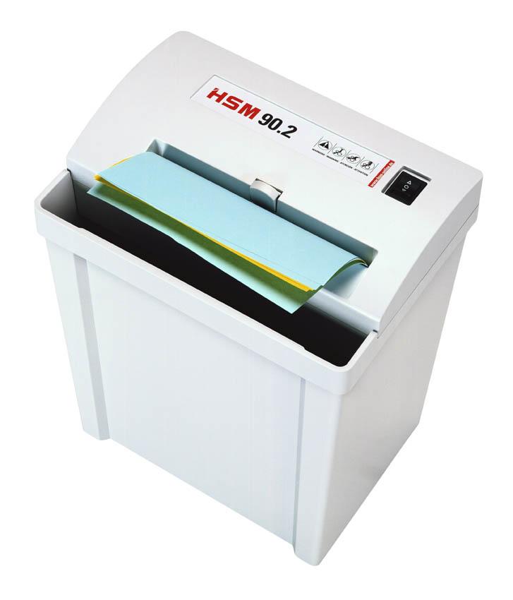 מגרסת נייר משרדית HSM Classic 90.2