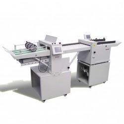מכונה משולבת ביג ופרפורציה וקיפול אוטומטית חשמלית DUMOR 5375B+37KF