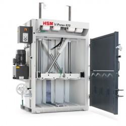 דחסן קרטונים HSM V-PRESS 820 ECO