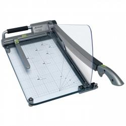גיליוטינת סכין מקצועית A4 לחיתוך נייר REXEL CL410