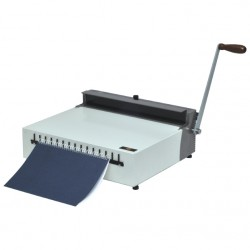 מכונת סגירה בספירלה מתכת SPC MWC-420
