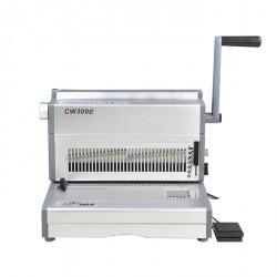 מכונת כריכה בספירלה מתכת SUPU CW300E