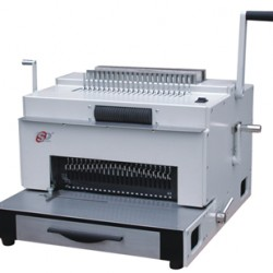 מכונת כריכה בספירלה מתכת  חשמלית SUPU SUPER4&1