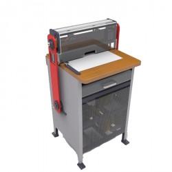 מכונת ניקוב חשמלית לכריכה בספירלה מתכת SUPU SUPER 450