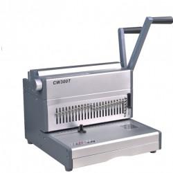 מכונת כריכה בספירלה מתכת SUPU CW300T
