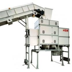 מערכת משולבת גריסה ודחיסה ואריזה אוטומטית  HSM TRIShredder  6060