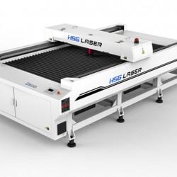 מכונת  לייזר CO2 עם מיטת חיתוך וחריטה  HSG HS-B1325