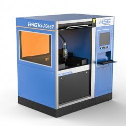 מכונת לייזר לסימון וחריטה על מתכות FAIBER HSG HS-P0637