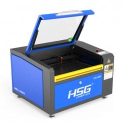 מיני לייזר CO2 לחיתוך וחריטה HSG SH-T4030 ללא שולחן עולה יורד