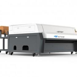 מכונת לייזר לחיתוך וחריטה על סיבי בד FABRIC LASER HSG HS-T1610R
